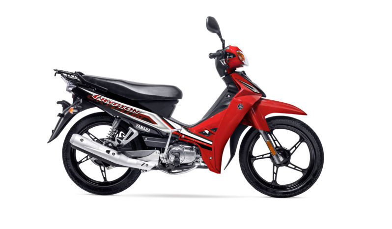 Yamaha New Crypton Full completo